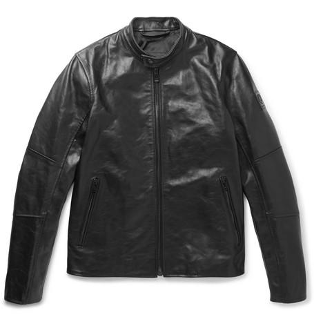 353650545c Belstaff Southbourne Leather Jacket In Black | ModeSens