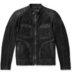 Belstaff Weybridge Perforated Burnished-Nubuck Jacket