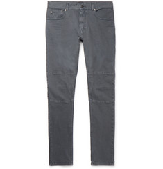 Belstaff Tattenhall Skinny-Fit Panelled Stretch-Denim Jeans