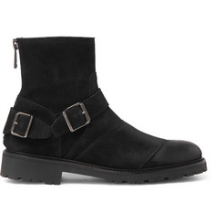 Belstaff Trialmaster Waxed-Suede Boots