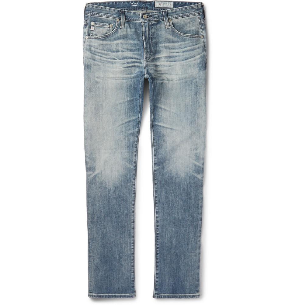 Tellis Slim-fit Denim Jeans - Light denim