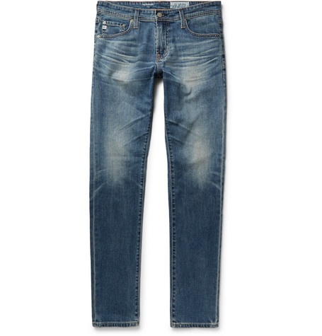 Stockton Skinny-fit Stretch-denim Jeans - Mid denim