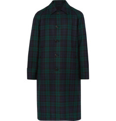 Burberry Reversible Black Watch Checked Wool-Twill Trench Coat