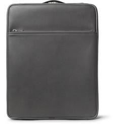 Valextra - Pebble-Grain Leather Carry-On Case