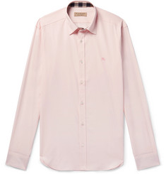 Burberry Stretch-Cotton Poplin Shirt