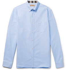 Burberry - Slim-Fit Button-Down Collar Cotton Oxford Shirt