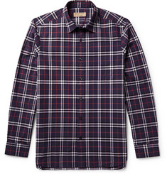 Burberry - Slim-Fit Checked Cotton-Poplin Shirt