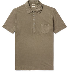 Massimo Alba Wembley Linen-Piqué Polo Shirt