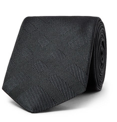 Burberry 6cm Checked Silk-Jacquard Tie