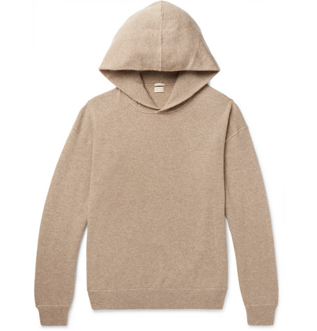 Cashmere Hoodie - Light brown