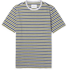 Albam Striped Cotton T-Shirt