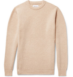 Albam Ribbed Mélange Wool Sweater