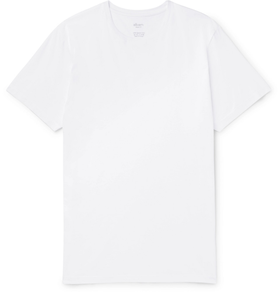 Classic Cotton-jersey T-shirt - White