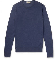 John Smedley - Theon Slim-Fit Sea Island Cotton and Cashmere-Blend Sweater