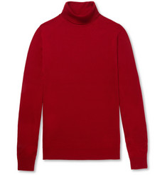 John Smedley Cherwell Virgin Merino Wool Rollneck Sweater