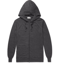 John Smedley Reservoir Wool Zip-Up Hoodie