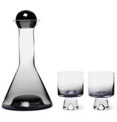 Tom Dixon Tank Dégradé Decanter and Wine Glasses Set