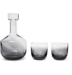 Tom Dixon - Tank Dégradé Decanter and Whisky Glasses Set