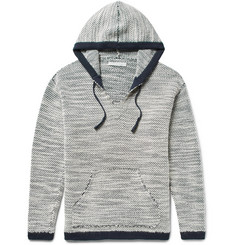 Outerknown - Alta Alpaca, Wool and Organic Cotton-Blend Hooded Sweater