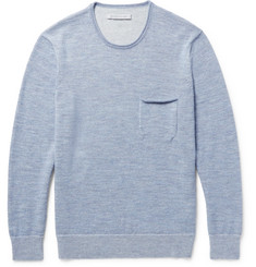 Outerknown Buenas Noches Baby Alpaca and Organic Cotton-Blend Sweater