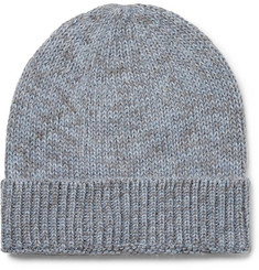Outerknown - Layover Mélange Baby Alpaca and Organic Cotton-Blend Beanie