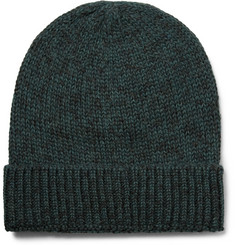 Outerknown Layover Mélange Baby Alpaca and Organic Cotton-Blend Beanie