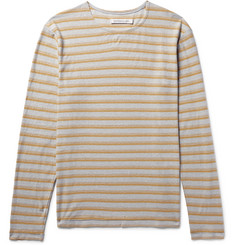 Outerknown Isidro Striped Hemp and Organic Cotton-Blend T-Shirt