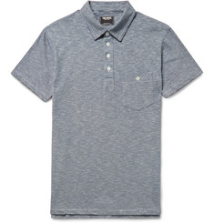 Todd Snyder - Striped Cotton-Jersey Polo Shirt