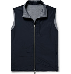 Canali Slim-Fit Reversible Weatherproof Shell Gilet