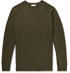 Sunspel Shetland Wool Sweater
