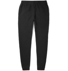 Sunspel Slim-Fit Brushed Loopback Cotton-Jersey Sweatpants