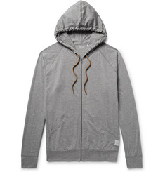Paul Smith Mélange Cotton-Jersey Zip-Up Hoodie