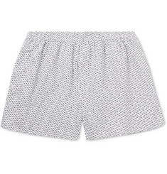 Sunspel Penguin Printed Cotton Boxer Shorts