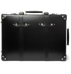 "Globe-Trotter - 20"" Leather-Trimmed Suitcase"