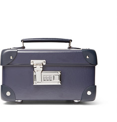 Globe-Trotter - Leather-Trimmed Watch Case