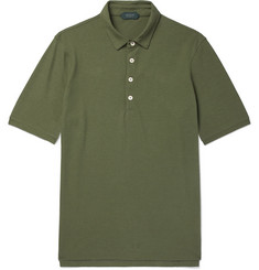 Incotex Slim-Fit Cotton-Jersey Polo Shirt