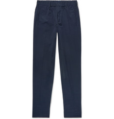 Incotex Slim-Fit Cotton-Seersucker Trousers