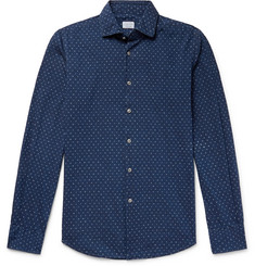 Incotex Slim-Fit Polka-Dot Cotton Shirt