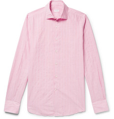 Incotex Slim-Fit Striped Cotton-Blend Shirt