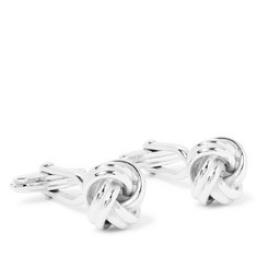 Lanvin - Rhodium-Plated Cufflinks