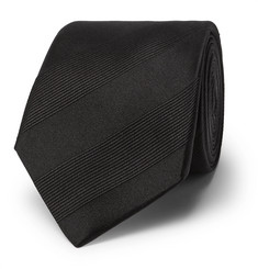 Lanvin - 7cm Striped Silk-Twill Tie