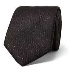 Lanvin 7cm Metallic Nep Silk-Blend Twill Tie