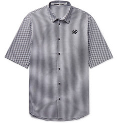 McQ Alexander McQueen Sheehan Gingham Cotton Shirt