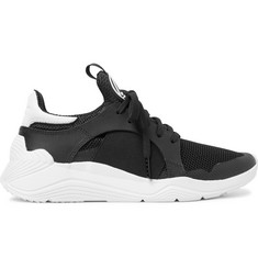 McQ Alexander McQueen Gishiki Rubber-Trimmed Mesh Sneakers