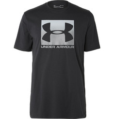 Under Armour HeatGear Printed Cotton-Blend Jersey T-Shirt
