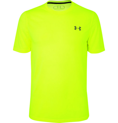 Under Armour Threadborne Siro T-shirt - Yellow