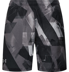 Under Armour Launch Printed HeatGear and Mesh Shorts