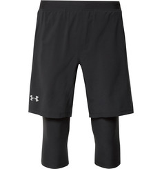 Under Armour - Launch Layered HeatGear Compression Shorts