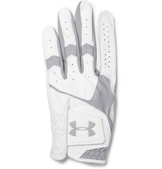 Under Armour CoolSwitch Mesh-Panelled Leather Golf Glove