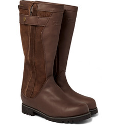 Musto Shooting Storm GORE-TEX-Lined Leather and Nubuck Boots